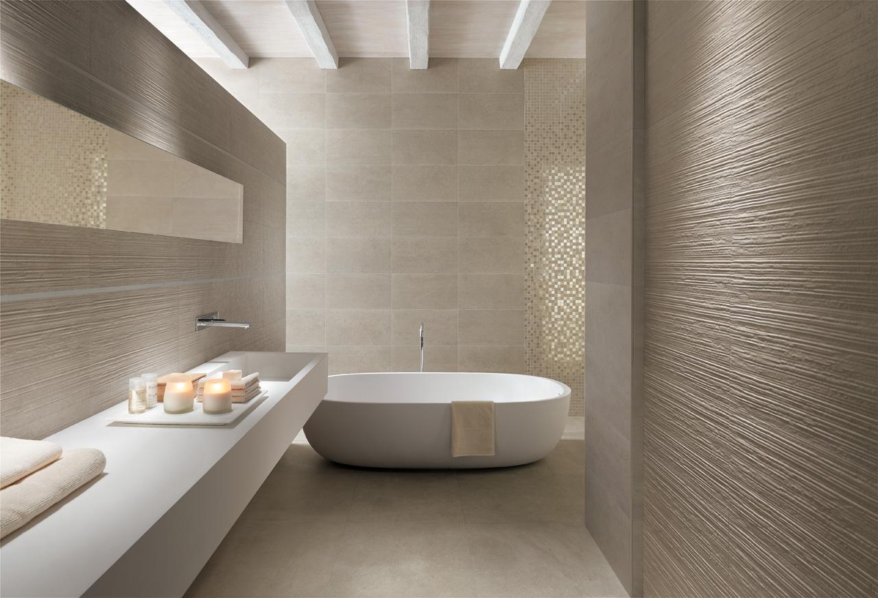 Rivestimenti: Collezione DESERT : bagno effetto pietra : Design